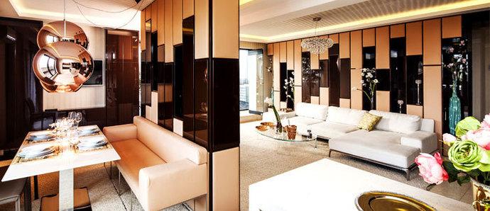 里斯本现代时尚感公寓 柔和色彩打造高雅家居